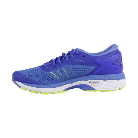 Asics Gel Kayano 24 Womens Blue Narrow B Low Top Athletic Gym Running Shoes