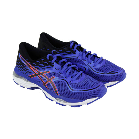 Asics Gel Cumulus 19 Womens Blue Textile Athletic Lace Up Running Shoes