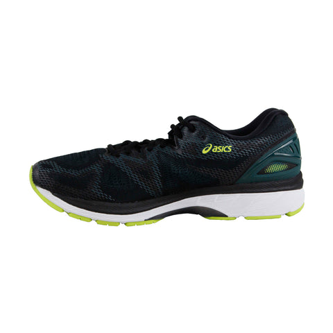 Asics Gel Nimbus 20 Mens Black Mesh Athletic Lace Up Running Shoes