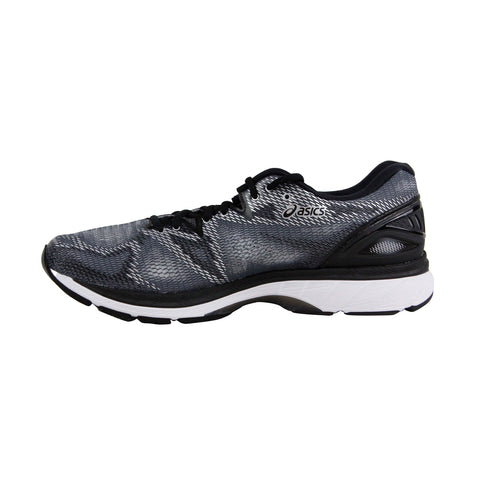 Asics Gel Nimbus 20 Mens Gray Mesh Athletic Lace Up Running Shoes