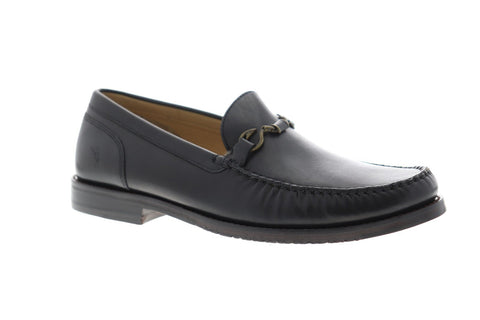 Tommy Bahama Maya Bay Mens Black Leather Casual Dress Loafers Shoes