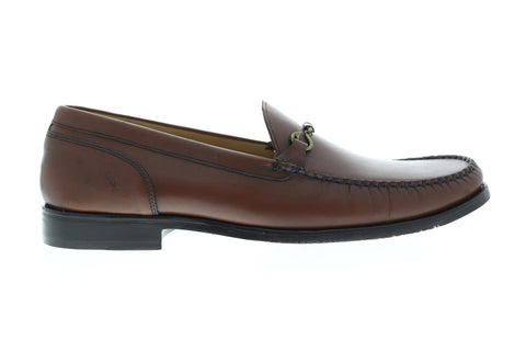 Tommy Bahama Maya Bay Mens Brown Leather Casual Dress Loafers Shoes