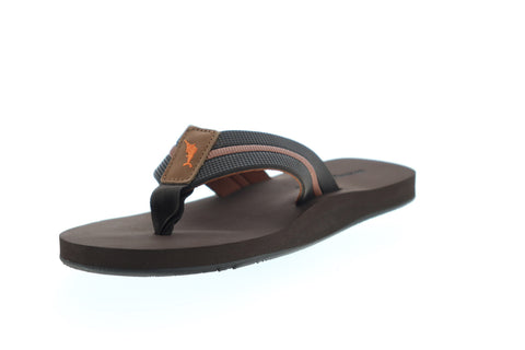 Tommy Bahama Fiji TB7S00167 Mens Brown Slip On Flip-Flops Sandals Shoes
