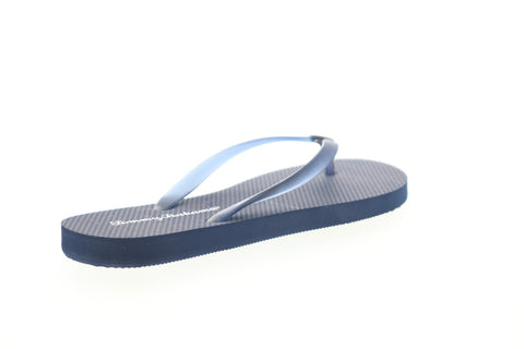 Tommy Bahama Whykiki Flat Solid TB7S00197 Womens Blue Sandals Flip-Flops Shoes