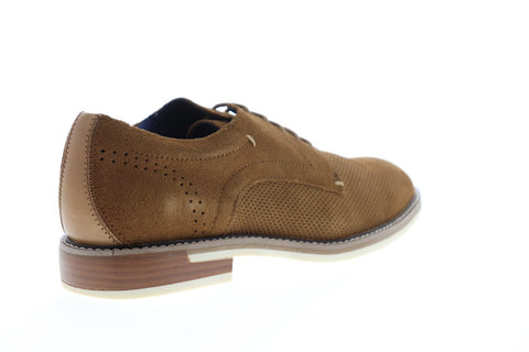 Steve Madden Thundarr Mens Brown Suede Casual Dress Lace Up Oxfords Shoes