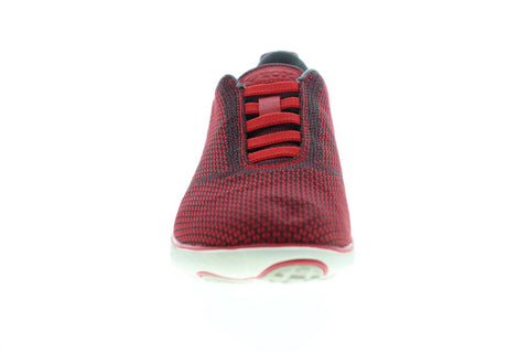 Geox U Nebula U64D7B000ZIC0048 Mens Red Canvas Slip On Sneakers Shoes