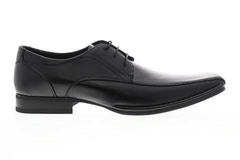 Unlisted by Kenneth Cole Round Town UM164528E Mens Black Plain Toe Oxfords Shoes