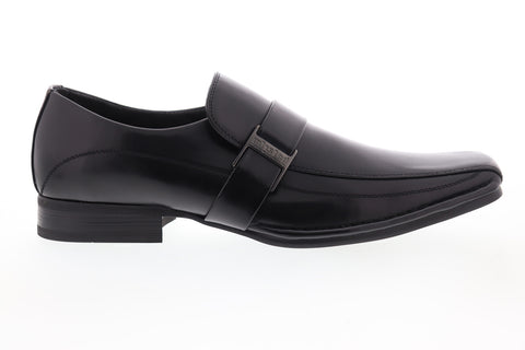 Unlisted by Kenneth Cole Round Table UM164538E Mens Black Casual Loafers Shoes
