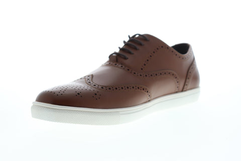 Unlisted by Kenneth Cole Stand Sneaker G Mens Brown Wingtip Oxfords Shoes