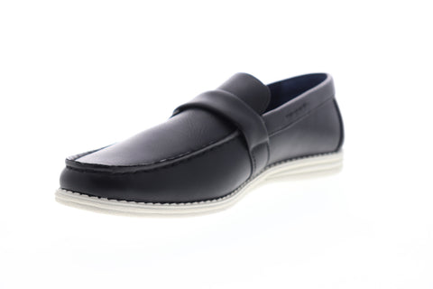 Unlisted by Kenneth Cole Emersin Slip On Mens Black Low Top Casual Loafers Shoes