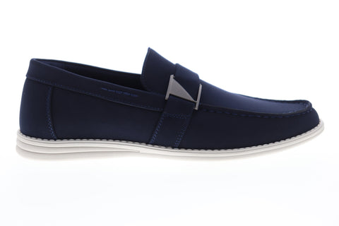 Unlisted by Kenneth Cole Emersin Slip On Mens Blue Casual Loafers Shoes