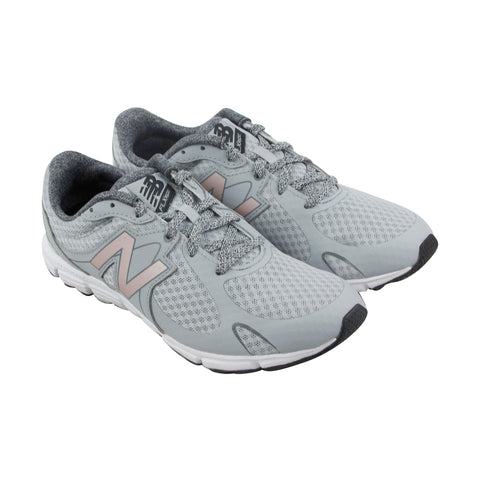 New Balance Course Womens Gray Mesh Athletic Lace Up Running Shoes
