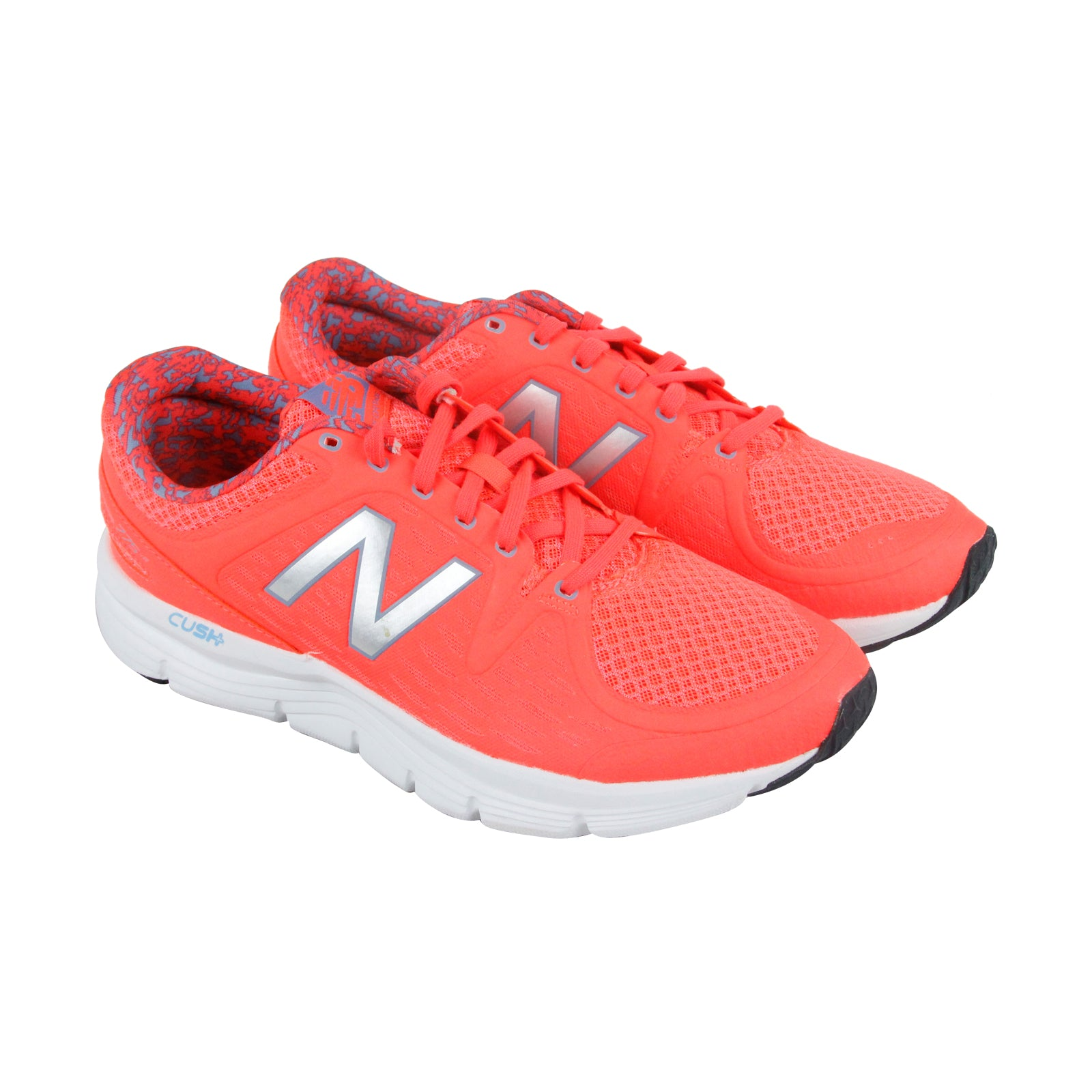 thoughts on pretty cheap aliexpress New Balance Course Womens Orange Mesh Athletic Lace Up Running Shoes