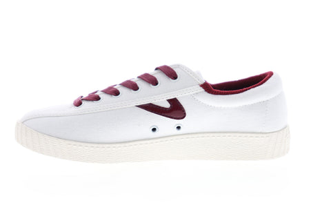 Tretorn Nylite 28 Plus Womens White Canvas Low Top Lifestyle Sneakers Shoes