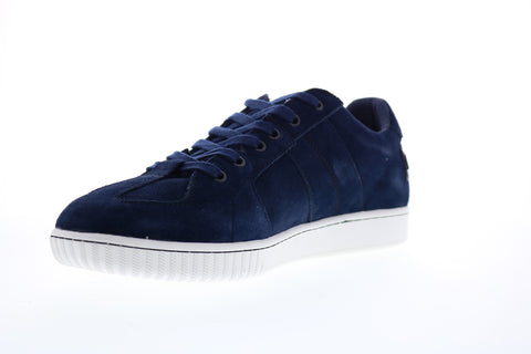 Diesel S-Millenium Lc Mens Blue Suede Lace Up Lifestyle Sneakers Shoes