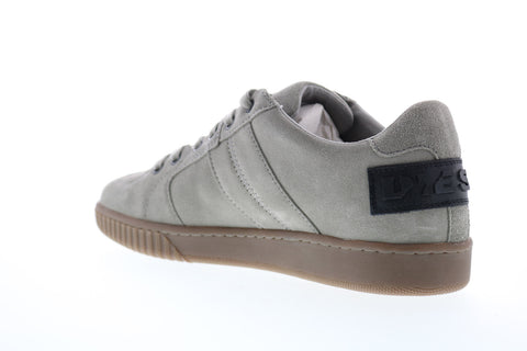 Diesel S-Millenium Lc Mens Gray Suede Lace Up Lifestyle Sneakers Shoes