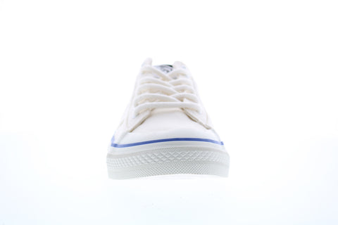 Diesel S-Astico Lc Logo Mens White Canvas Lace Up Lifestyle Sneakers Shoes