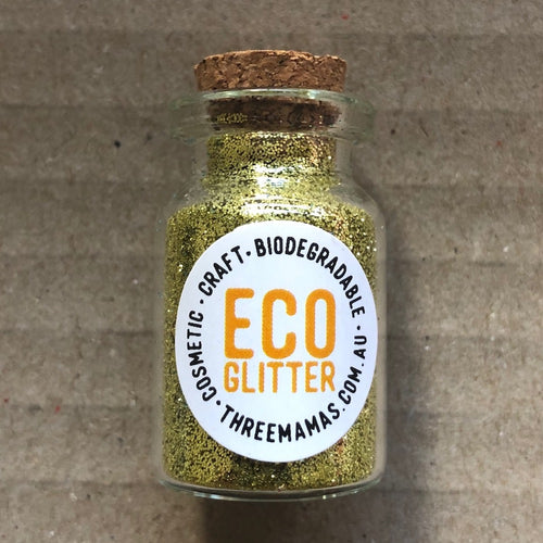 Eco Glitter Gold by Three Mamas