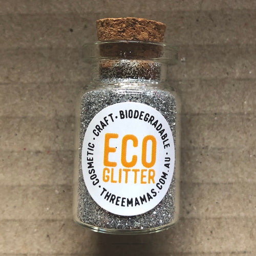 Eco Glitter Silver by Three Mamas