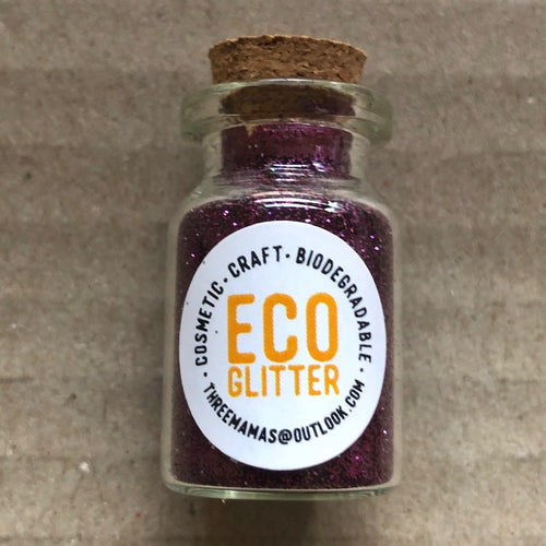 Eco Glitter Plum by Three Mamas