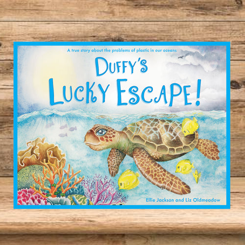 Duffy's Lucky Escape book by Ellie Jackson and Liz Oldmeadow