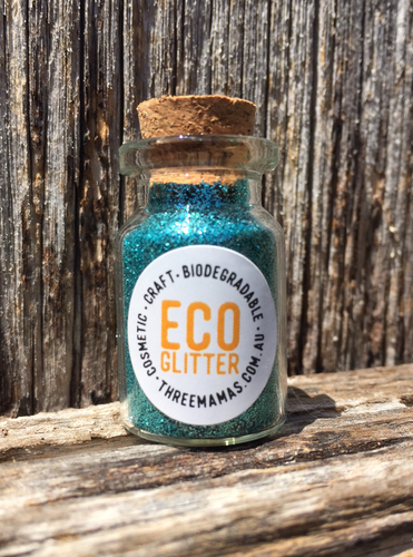 Eco Glitter Turquoise by Three Mamas