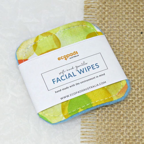 Reusable Cotton Facial Wipes - by Ecopads