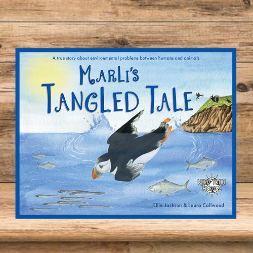 Marli's Tangled Tale book by Ellie Jackson and Laura Callwood