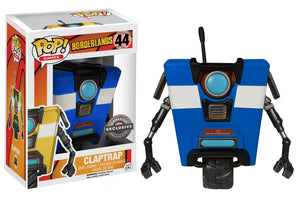 Funko Pop - Borderlands - Claptrap Blue Underground Toys Exclusive
