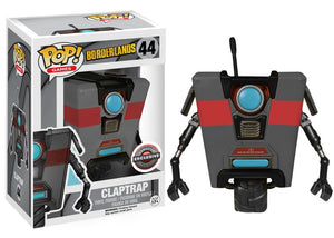 Funko Pop - Borderlands - Claptrap Grey