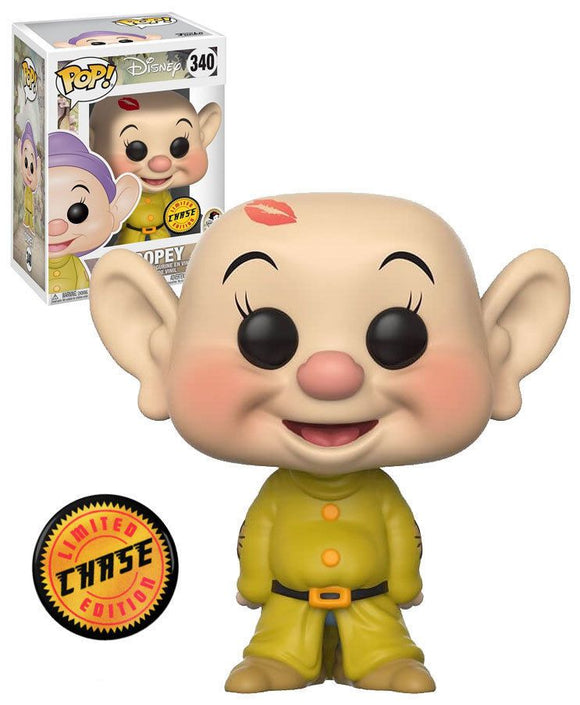 Funko Pop -  Snow White and the Seven Dwarfs - Dopey Chase