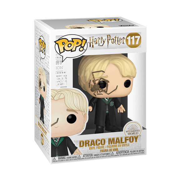 Funko Pop -  Harry Potter - Malfoy w/Whip Spider