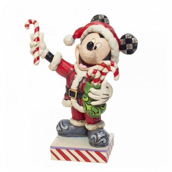 Disney Traditions - Jim Shore - Mickey Candy Natale