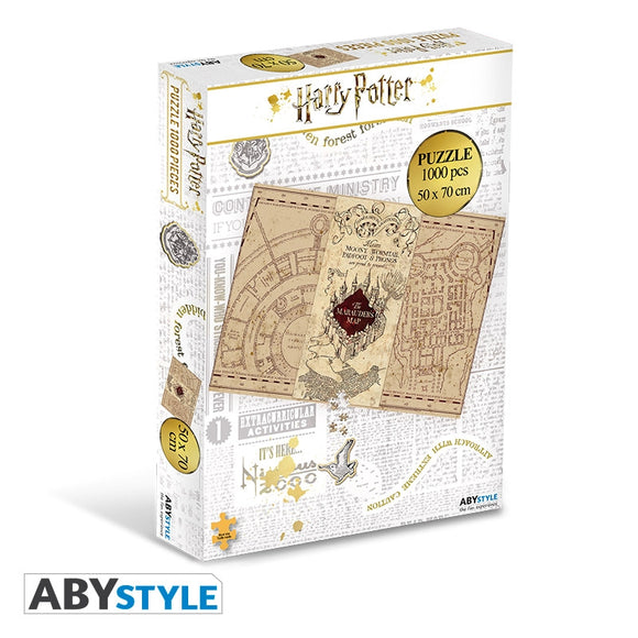 Harry Potter - The Marauder's Map Puzzle