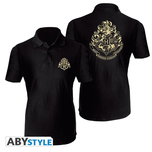 Harry Potter - T-Shirt Hogwarts Polo Uomo
