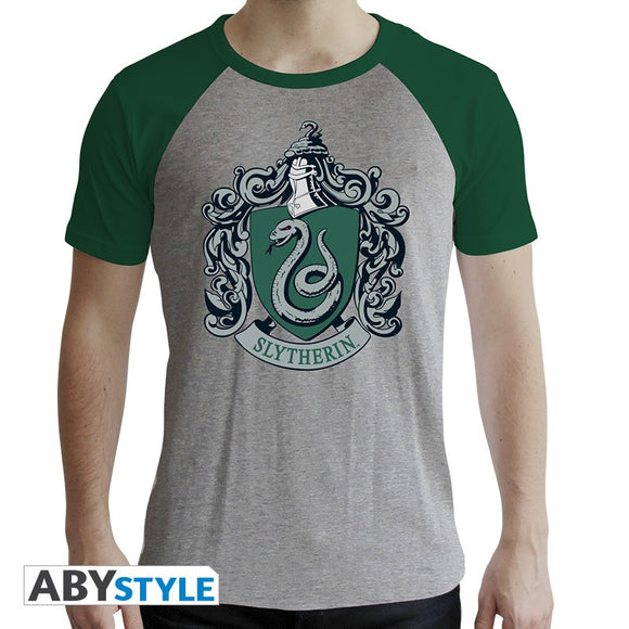 Harry Potter - T-Shirt Serpeverde Uomo