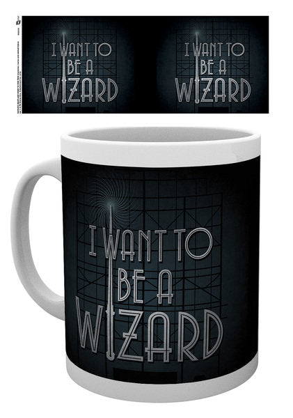 Tazza I Want to be a Wizard