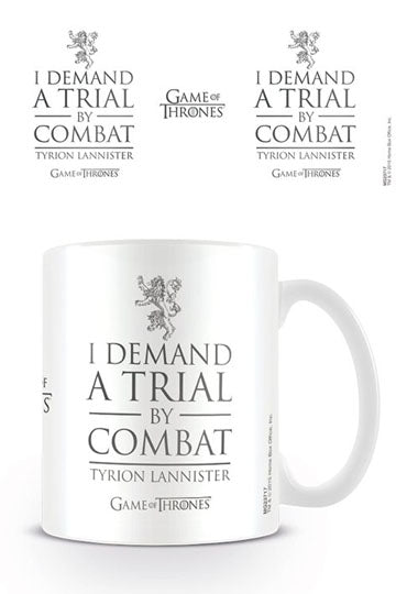 Tazza I Demand a Trial by Combat