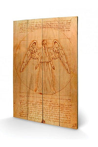Doctor Who - Wooden Wall Art Weeping Angel