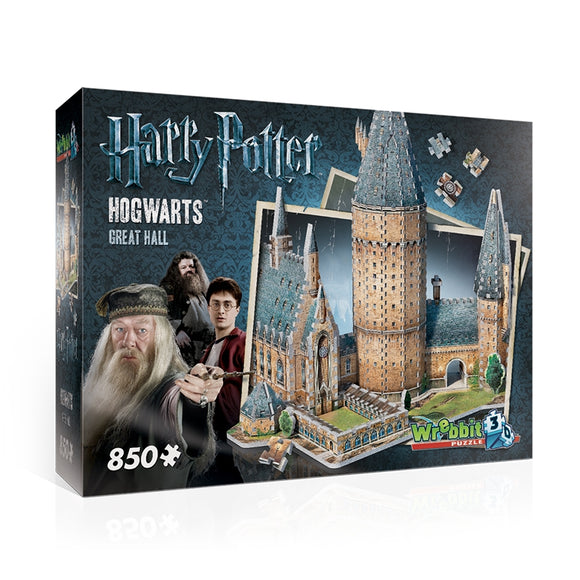 Harry Potter - Sala Grande - Puzzle 3D