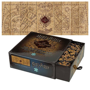Harry Potter - Jigsaw Puzzle - The Marauder's Map Cover