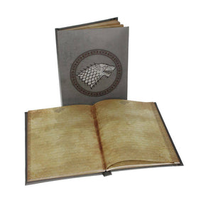 Game of Thrones - Notebook A5 Stark