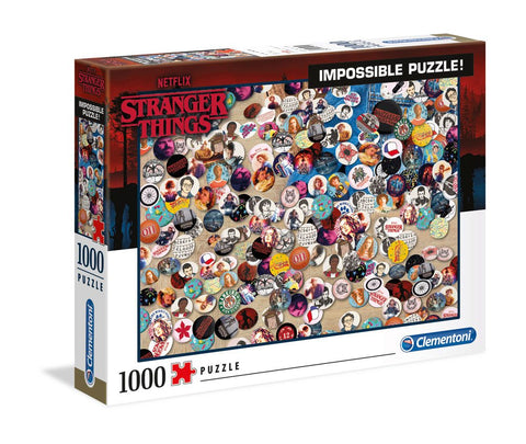 Stranger Things - Impossible Puzzle Buttons