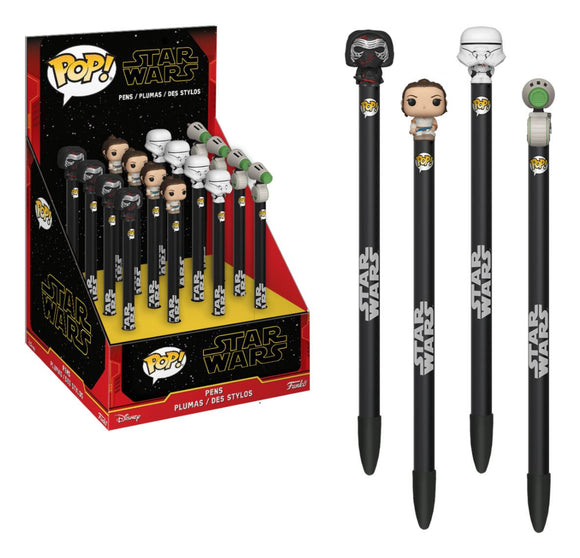 Funko Pop - Star Wars IX - Pens with Toppers