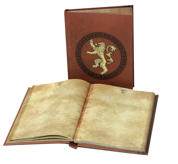 Game of Thrones - Notebook A5 Lannister