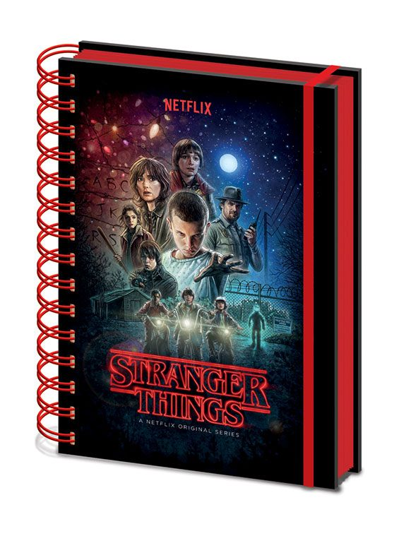 Stranger Things - Notebook A5