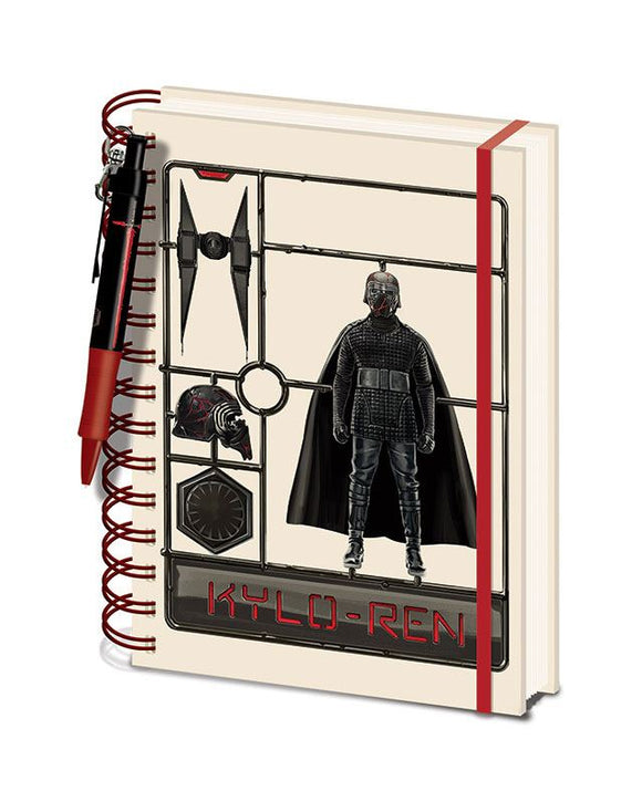 Star Wars - Notebook Kylo Ren + Penna