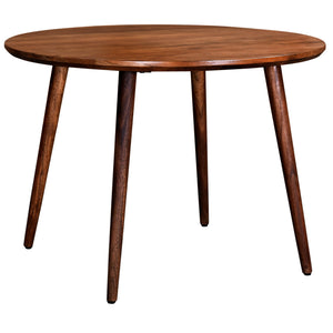 Arnav Round Dining Table in Walnut