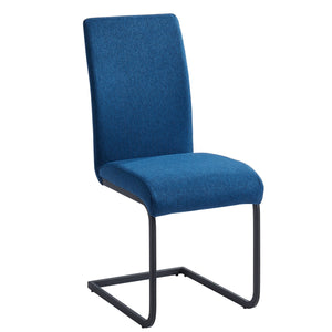 Vespa Side Chair, set of 2, in Blue