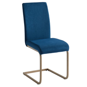 Savion Side Chair, set of 2, in Blue